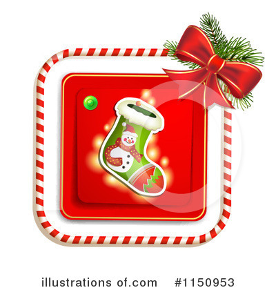 Christmas Stocking Clipart #1150953 by merlinul