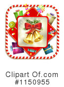 Royalty-Free (RF) Christmas Clipart Illustration #1150955