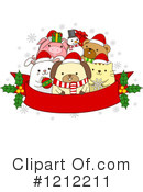 Royalty-Free (RF) Christmas Clipart Illustration #1212211