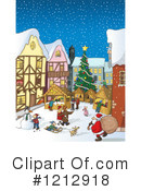 Royalty-Free (RF) Christmas Clipart Illustration #1212918