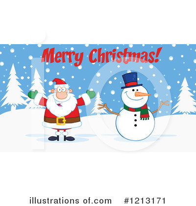 Snowman Clipart #1213171 by Hit Toon