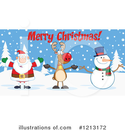 Snowman Clipart #1213172 by Hit Toon