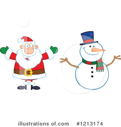 Snowman Clipart #1213174 by Hit Toon