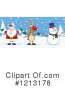 Christmas Clipart #1213178 by Hit Toon