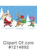 Christmas Clipart #1214892 by Hit Toon