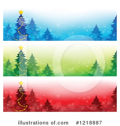 Royalty-Free (RF) Christmas Clipart Illustration by visekart - Stock Sample #1218887