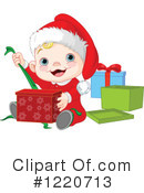 Royalty-Free (RF) Christmas Clipart Illustration #1220713