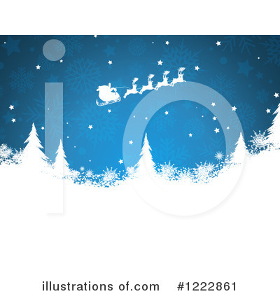 Royalty-Free (RF) Christmas Clipart Illustration by KJ Pargeter - Stock Sample #1222861