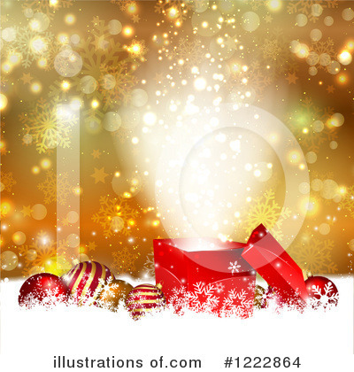 Christmas Gift Clipart #1222864 by KJ Pargeter