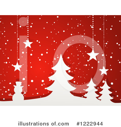 Christmas Tree Clipart #1222944 by elaineitalia