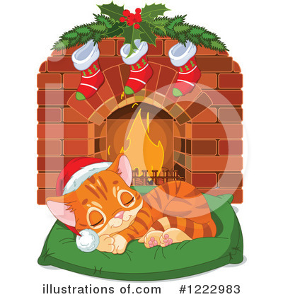 Christmas Stockings Clipart #1222983 by Pushkin