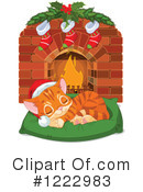 Royalty-Free (RF) Christmas Clipart Illustration #1222983