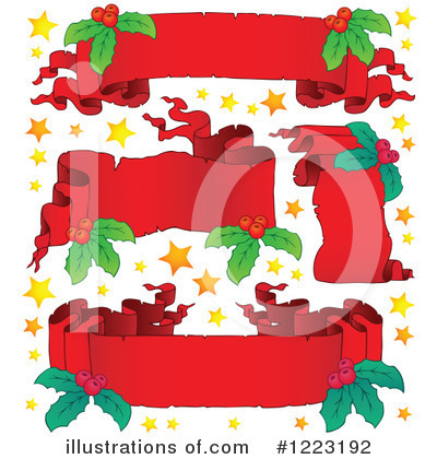 Royalty-Free (RF) Christmas Clipart Illustration by visekart - Stock Sample #1223192