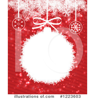 Christmas Background Clipart #1223603 by vectorace
