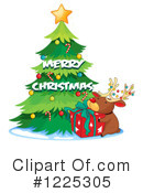Royalty-Free (RF) Christmas Clipart Illustration #1225305