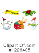 Christmas Clipart #1226405 by Graphics RF