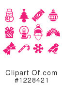 Christmas Clipart #1228421 by AtStockIllustration
