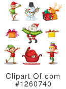 Christmas Clipart #1260740 by Graphics RF