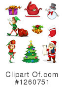 Christmas Clipart #1260751 by Graphics RF