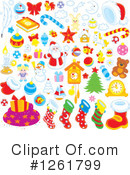 Christmas Clipart #1261799 by Alex Bannykh