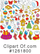 Christmas Clipart #1261800 by Alex Bannykh