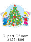 Christmas Clipart #1261806 by Alex Bannykh