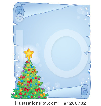 Christmas Tree Clipart #1266782 by visekart