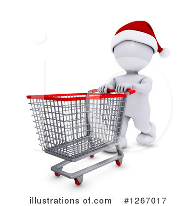 Christmas Shopping Clipart #1267017 by KJ Pargeter