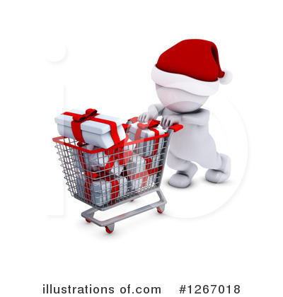Christmas Shopping Clipart #1267018 by KJ Pargeter
