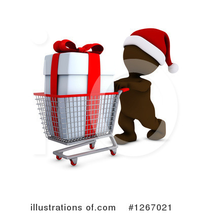 Christmas Shopping Clipart #1267021 by KJ Pargeter