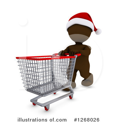 Christmas Shopping Clipart #1268026 by KJ Pargeter