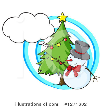 Snowman Clipart #1271602 by Graphics RF