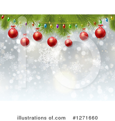 Christmas Tree Clipart #1271660 by KJ Pargeter
