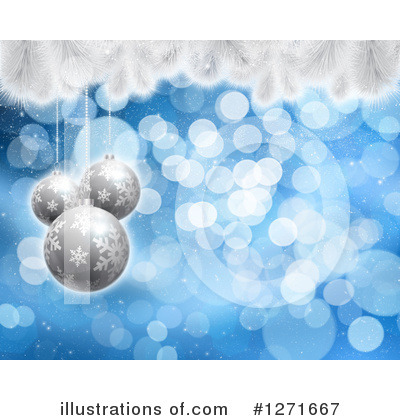 Royalty-Free (RF) Christmas Clipart Illustration by KJ Pargeter - Stock Sample #1271667
