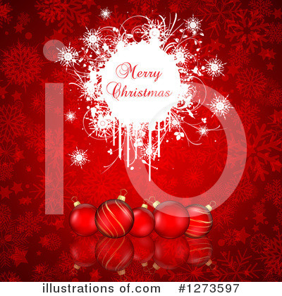 Christmas Greetings Clipart #1273597 by KJ Pargeter