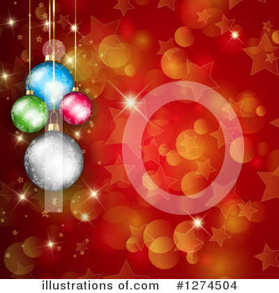 Royalty-Free (RF) Christmas Clipart Illustration by KJ Pargeter - Stock Sample #1274504