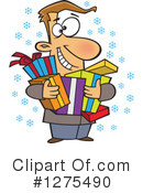 Christmas Clipart #1275490 by toonaday