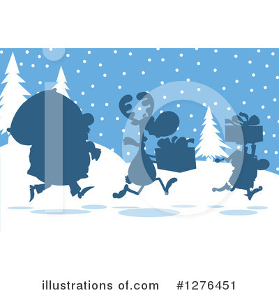 Santa Clipart #1276451 by Hit Toon
