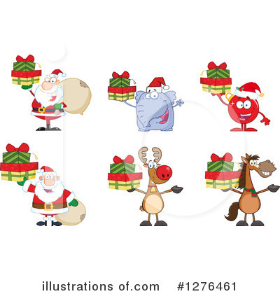 Christmas Bauble Clipart #1276461 by Hit Toon
