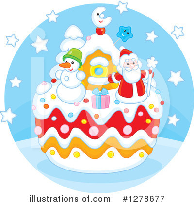 Christmas Clipart #1278677 by Alex Bannykh