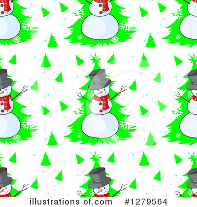 Snowman Clipart #1279564 by Graphics RF