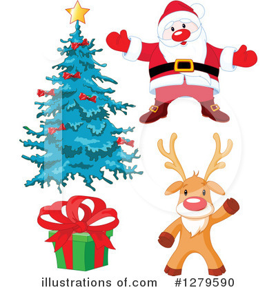 Rudolph Clipart #1279590 by Pushkin