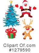 Royalty-Free (RF) Christmas Clipart Illustration #1279590
