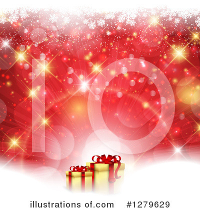 Christmas Gift Clipart #1279629 by KJ Pargeter
