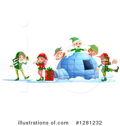 Igloo Clipart #1281232 by Graphics RF