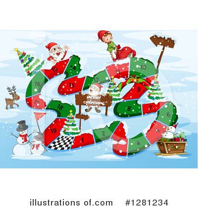 Snowman Clipart #1281234 by Graphics RF