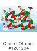 Christmas Clipart #1281234 by Graphics RF