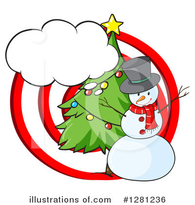 Snowman Clipart #1281236 by Graphics RF