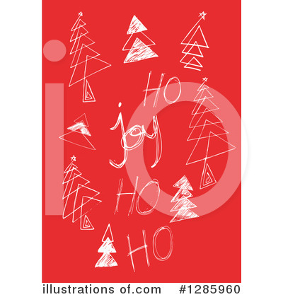 Christmas Tree Clipart #1285960 by Cherie Reve