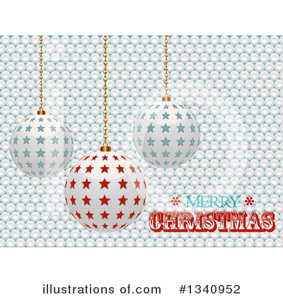 Merry Christmas Clipart #1340952 by elaineitalia